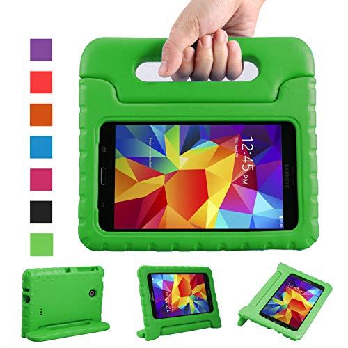 axy Tab 4 7.0 Zoll Eva Stoßfeste Schutzhülle Tragbar für Kinder mit Ständer Schutzhülle Standfunktion für Samsung Tab 4 SM-T230/T231/T235 7 Zoll Tablet,-Grün ()