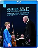 Beethoven:Violin Concerto [Isabelle Faust; Berlin Philharmonic Orchestra , Bernard Haitink] [EUROARTS: BLU RAY] [Blu-ray]