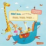 Hör mal: Verse für Kleine: Hopp, hopp, hopp ... - Soundbuch ab 18 Monaten: ... und andere Kniereiter mit Musik (Soundbuch zum Mitmachen)