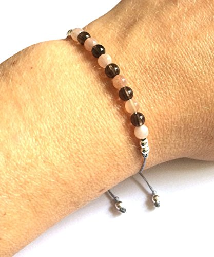 karma-gems-smokey-quartz-gold-sandstone-yoga-balance-reki-bracelet