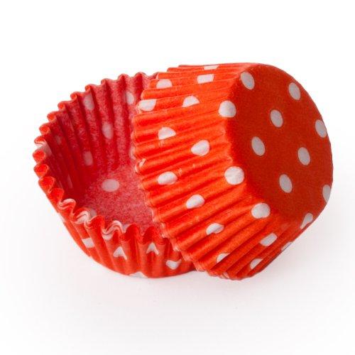 Kleid My Cupcake Standard orange Polka Dot Cupcake Liners -