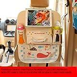 Netter Karikatur-Entwurfs-Sitz-Schutz für Auto, Seatback-Speicher-Organisator-Tasche mit...