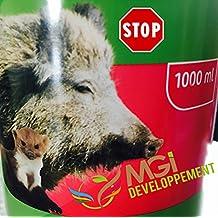 Stop - Repellente anti-cinghiale Protezione contro animali selvatici.