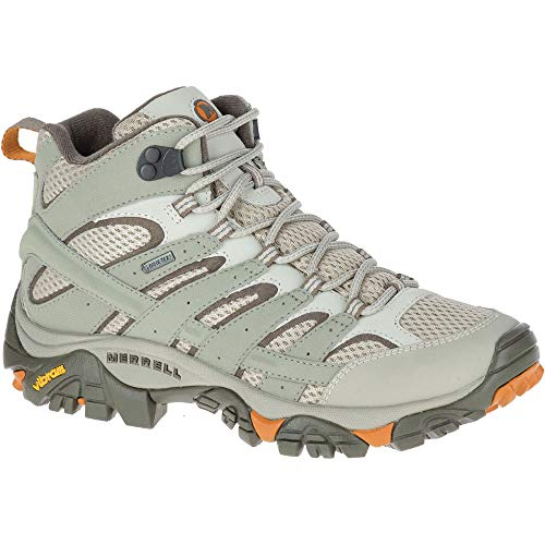 Mesh-ankle Boots (Merrell Womens/Ladies Moab 2 Mid Ankle Gore Tex Hiking Walking Boots)