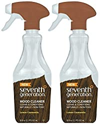 Seventh Generation Wood Cleaner, 18 Fluid Ounce (Pack of 2)...