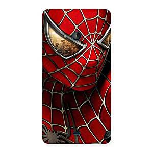 Spide Two Red Back Case Cover for Lumia 540