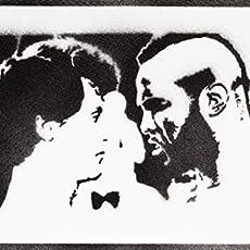 Artwork Wolverine X-Men Poster Plakat Handmade Graffiti Street Art