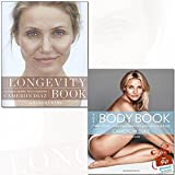 Cameron Diaz Collection 2 Books Set With Gift Journal (The Longevity Book, The Body Book)