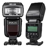 Aperlite Speedlite Flashes DSLR Profesional para Canon Soporta sincronización de High-Speed TTL, Master Control Inalámbrico, YH-700C