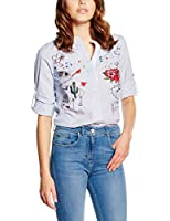 Desigual Women's Normal Waist Long Sleeve Shirt