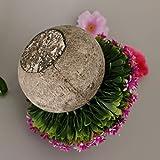 Fenteer Künstliche Gypsophila Bonsai Pflanzen im Topf Kunstpflanze Dekopflanzen Topfpflanzen - Lila - 6
