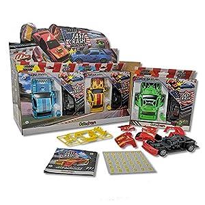 Sbabam- Fast Crash Maxi-Pack 3 Unidades, SB-FSTCRH-19
