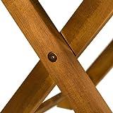 Deuba Gartentisch klappbar aus Akazienholz - 6