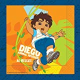 Pack of 16 Go Diego Go! Napkins