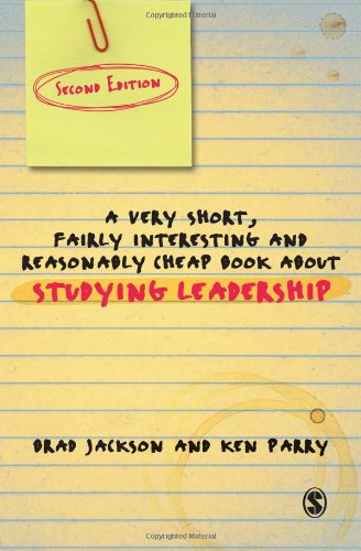 A Very Short, Fairly Interesting and Reasonably Cheap Book about Studying Leadership (Very Short, Fairly Interesting & Cheap Books)
