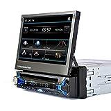 WWCAR 7-Zoll-Shrink-Touch-Screen HD Bluetooth Auto DVD Kartenspieler
