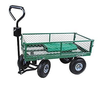 Handwagen Bollerwagen Mit Plane Transportkarre Garten Wagen Karre Neu #579 von MALATEC - Du und dein Garten