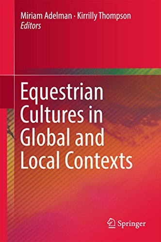 Equestrian Cultures in Global and Local Contexts (English Edition)