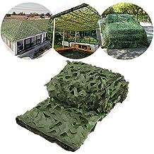 UNIQUEBELLA UQ Filet de Camouflage Vert Tactique Militaire Sniper Fusil pour  Camping Chasse Désert Jungle 9f7ab0eb75a