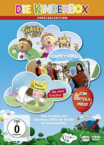 Die Kinderbox - Vorschul-Edition (3 DVDs)