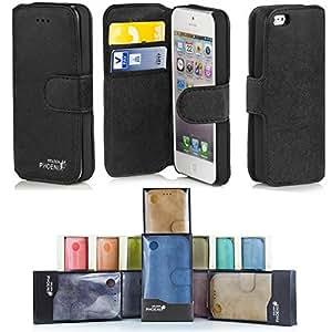 Golden Phoenix classique Etui pour Samsung Galaxy et Apple iPhone, compartiment porte-monnaie ou carte fentes–Cover Étui en 13couleurs disponibles