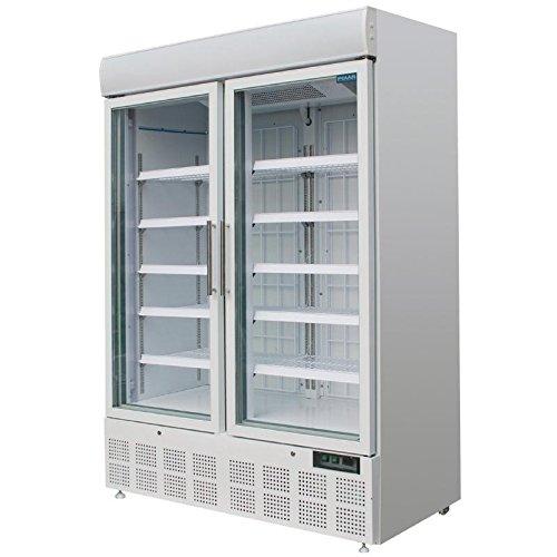 Polar Display Gefrierschrank mit Lichtbox 920 Liter gewerbliche Gastronomie