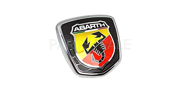 Brand new Genuine Fiat Punto Evo Abarth front grille bonnet badge 735521148