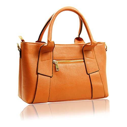 Handbag Krazy , Damen Tote-Tasche hautfarben