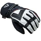 ATTONO Skihandschuhe V01 Ski Snowboard 3 in1 Leder Handschuhe mit Innenhandschuh