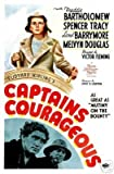 Captains Courageous Film Poster Spencer Tracy Rare 1