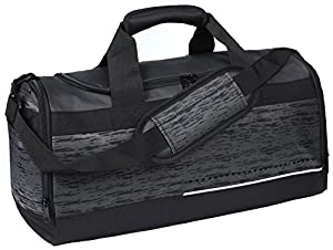 MIER Mens Holdall Gym Bag Sports Duffel Bag with Shoes Compartment for Weekender, Overnight, Carry on, 40L