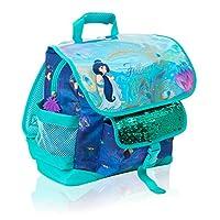 Disney rugzak Girls | Aladin-tas, volg je eigen hart met prinsessin Jasmin | met pailletten en holografisch design | voor kinderen met groot voorvak voor de school
