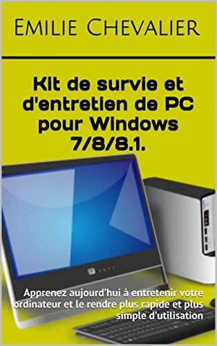 Kit de survie et d'entretien de PC p...