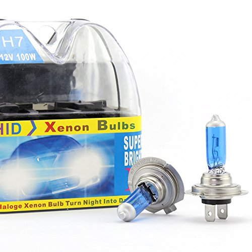 2 x H7 100W Scheinwerfer Halogen Bulbs Weiß Für Nebel lampe Xenon HID Bulbs 12V Auto Tagfahrlicht DRL Lampen