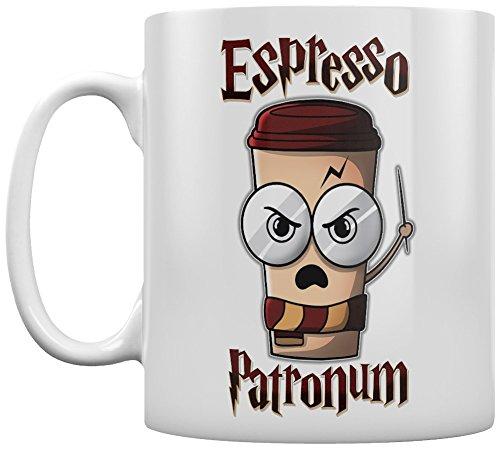 Tasse Espresso Patronum blanc