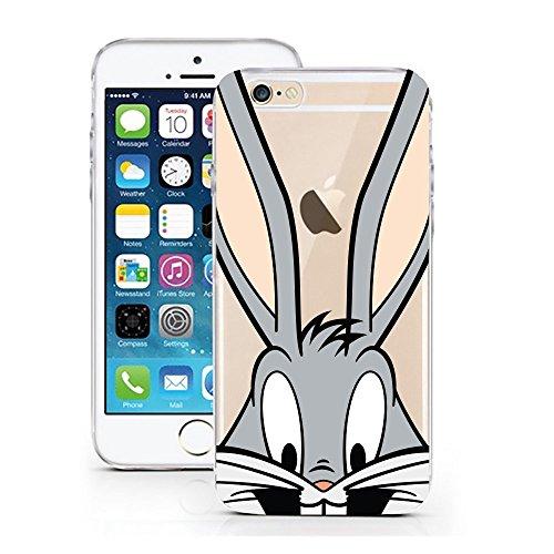 iPhone 7 Hülle von licaso® für das Apple iPhone 7 aus TPU Silikon Always Heart Herz Herzchen Love Muster ultra-dünn schützt Dein iPhone 7 & ist stylisch Schutzhülle Bumper Geschenk (Always Herz) Hase Cartoon