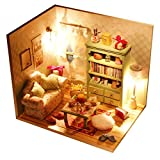 Sharplace Kit de Mini Casa de Muñecas Dollhouse en Miniatura de...