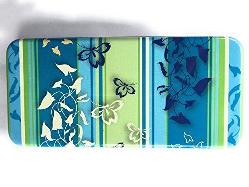 Slipeinlagen Binden Tampons Kosmetik Metalldose Box 188 x 88 x 21 mm aus hochwertigem Metall in wunderschönen Design