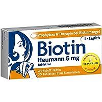Biotin Heumann 5 mg, 30 St. Tabletten preisvergleich bei billige-tabletten.eu