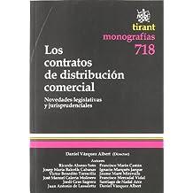 Los contratos de distribución comercial