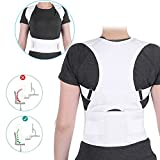 Haltungskorrektur Geradehalter Ultradünn Atmungsaktiv Superelastisch Rückenbandage zur Schulter Rücken Taille