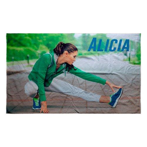 Personalisiertes Gym Handtuch mit Namen oder Text | Baumwolle | Handtuch | Verschiedene Größen | 50x30