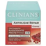 Clinians - Antirughe Quatidiana, Trattamento Attivo Rassodante con Estratto di Melograno e Colhibin - 50 ml