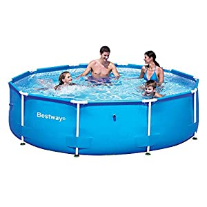 51FoWrvwDZL. SS300  - Bestway 10ft x 30-inch Steel Pro Frame Pool