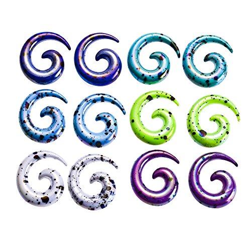 huacan-12-stuck-dehnspirale-set-macaron-farbe-punkte-design-dehnstab-dehner-dehnschnecke-ohr-expande