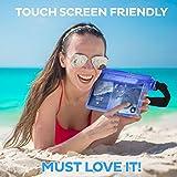 (2 Pack) Wasserdichte Tasche Beutel Handyhülle für Taille oder Schulter ideal zum Segeln, Wandern, Schwimmen, Angeln – sicherste Weg, Ihre Produkte trocken – 100% Garantie auf Lebenszeit - 8