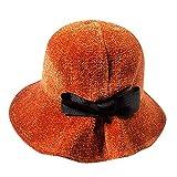 JUTOO Frauen Winter halten warme Mütze Fischer Hut Bowknot Caps