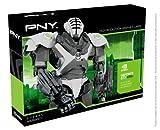 PNY NVIDIA GTX 650 TI Grafikkarte (PCI-e, 1GB DDR5 Speicher, DVI, mini HDMI, 1 GPU)