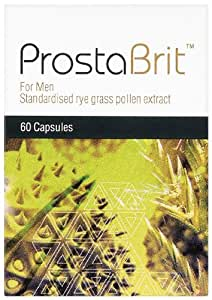 Prostabrit Standardised Rye Grass Pollen Extract for Men - Pack of 60 Capsules