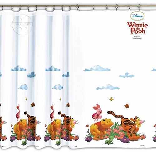 Licenza ufficiale Cartoon voile tendine–Winnie the Pooh 1–225cm larghezza x 149cm goccia